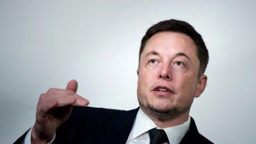 Elon Musk, PDG de Tesla et de SpaceX, à Washington le 19 juillet 2017