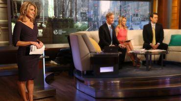 """La porte-parole du département d'Etat Heather Nauert ici à gauche dans l'émission """"Fox & Friends"""""""