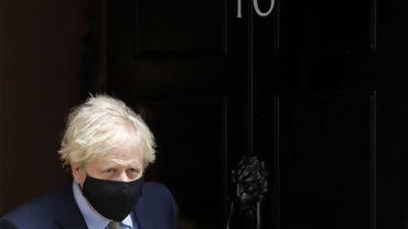 Le Premier ministre britannique Boris Johnson.