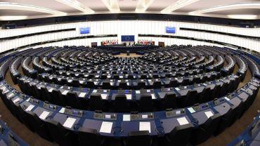 Vue du Parlement européen à Strasbourg