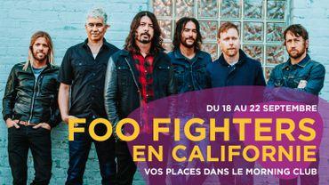 Les Foo Fighters en Californie