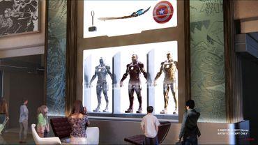 L'hôtel Marvel de New York.