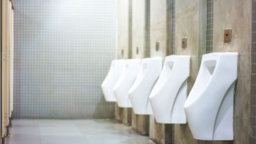"""Un livre et une expo sur les toilettes publiques, """"ancêtres des applis de rencontre"""" par l'artiste Marc Martin"""