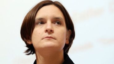 L'économiste française spécialiste de la pauvreté, Esther Duflo, le 8 janvier 2009 à Paris