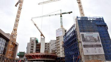 4000 travailleurs de la construction attendus dans les rues de Bruxelles