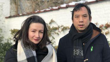 """Sarah Zamoum et Kim Lê Quang font partie des bénévoles du mouvement citoyen """"Rise for Climate"""""""