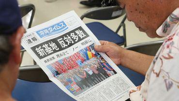 Japon: une majorité d'Okinawa vote contre le déplacement d'une base américaine