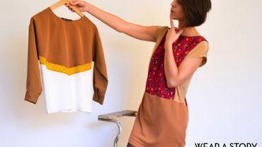 Wear a story, la marque de vêtements upcyclés de Lauriane Milis