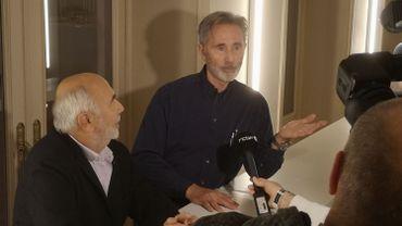 Gérard Jugnot et Thierry Lhermitte au Festival International du Film de Comédie de Liège