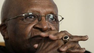 Desmond Tutu, le 6 novembre 2012 à Johannesburg