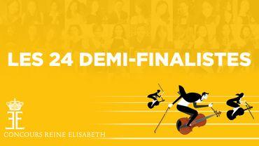 Les 24 demi-finalistes sont connus