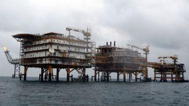 Plates-formes pétrolières en Iran