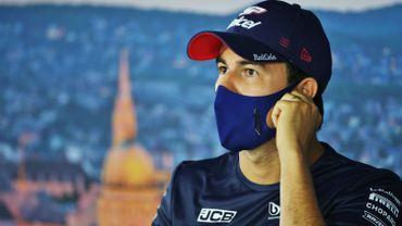 F1: Sergio Perez en isolement après un test non concluant