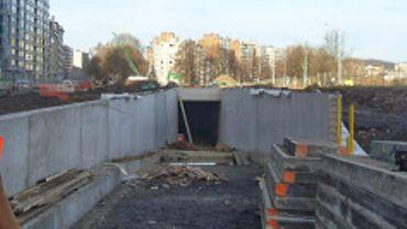 La sortie du tunnel, quai de Rome