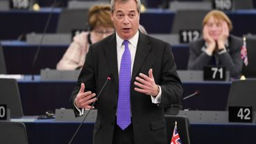 """""""La Belgique n'est pas une nation, c'est une création artificielle"""": Farage attaque, Verhofstadt défend notre pays"""