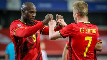 Romelu Lukaku et Kevin De Bruyne nommés pour l'Equipe de l'Année sur le site de l'UEFA