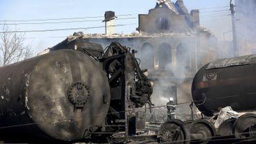 Explosion d'un train en Bulgarie: nouveau bilan de huit morts