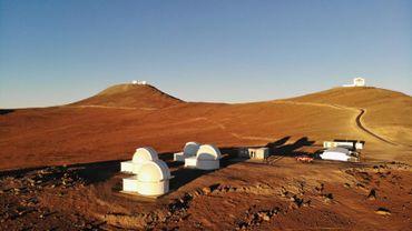 Les téléscopes robotiques dans le désert chilien