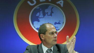 Lars-Christer Olsson, président de l'European Leagues et membre du Comité exécutif de l'Union européenne de football (UEFA)