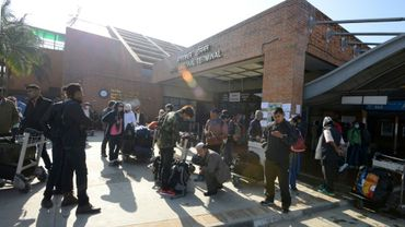 Plus de 60% des Népalaises qui se retrouvent à travailler illégalement comme domestiques dans le Golfe passent par l'aéroport international de Katmandou, selon un rapport