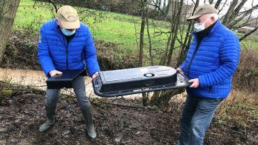 Des milliers d'œufs de truite fario implantés dans des ruisseaux de Biesmes et de l'Eau d'Heure