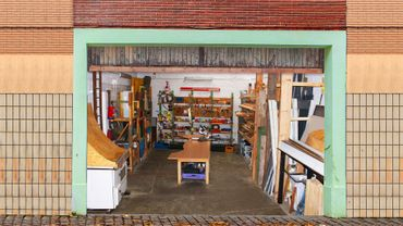 Anderlecht: des matériaux de construction en récup'