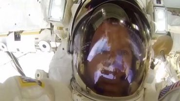 L'astronaute du faux direct