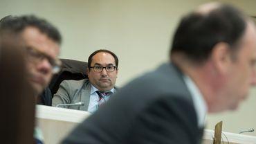 Ahmed Laaouej (PS), président de la commission d'enquête de la Chambre consacrée au volet belge des Panama Papers.