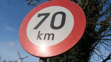 La Région wallonne impose dorénavant les 70 km/h (au lieu des 90) sur la N63 pour la traversée de Neupré (illustration).