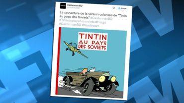 """Tintin au Pays des Soviets"""