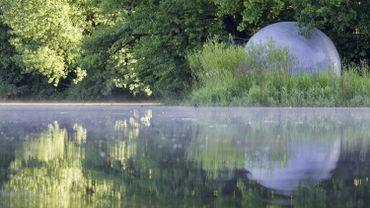 Une bulle sur l'eau, la magie à portée de main