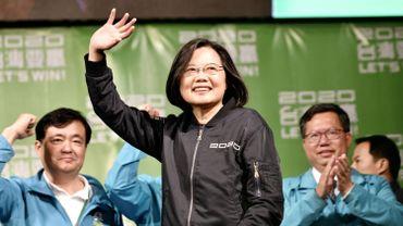 A peine réélue, Tsai Ing-wen, la présidente de Taïwan, cible des médias chinois