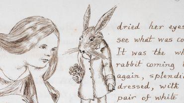 """""""Alice Under Ground"""", le manuscrit original est disponible en ligne"""