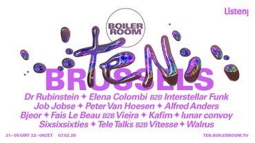 Boiler Room fête ses 10 ans!