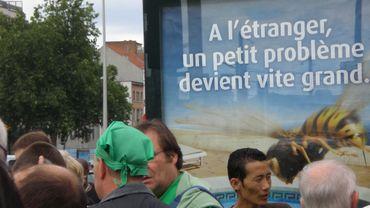 Des affiches jugées sexistes enlevées de panneaux publicitaires à Namur