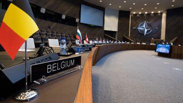 Bruxelles, quartier général de l'Otan.