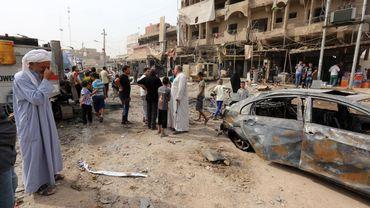 Une voiture piégée a explosé le 5 octobre dernier dans la banlieue nord de Bagdad