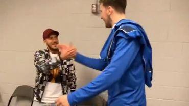 Quand Eden Hazard rencontre Luka Doncic...