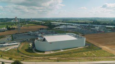 La nouvelle station de conversion de Lixhe était le chaînon manquant de l'interconnexion électrique entre la Belgique et l'Allemagne
