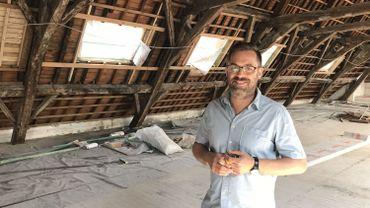 Laurent Maréchal, directeur de l'Auberge de Jeunesse Simenon
