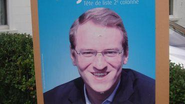 Etienne Dujardin, candidat MR en 2012, à nouveau présent en 2018