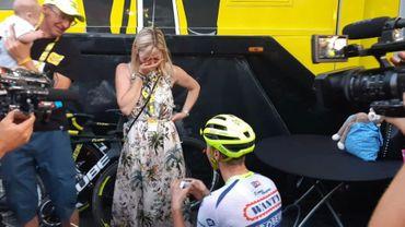 Kevin Van Melsen a roulé 3 365,8 km... pour demander en mariage sa compagne