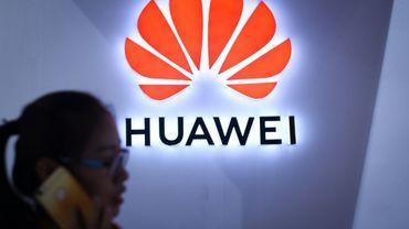Le logo de la firme Huawei