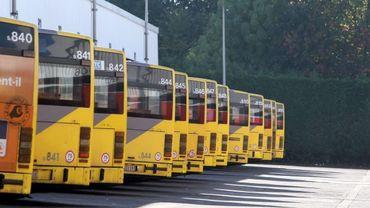 Les bus du TEC Liège-Verviers ne quitteront pas leur dépôt ce vendredi.