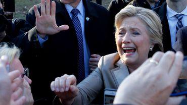 Hillary Clinton a voté à Chappaqua