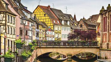 La ville de Colmar en Alsace.