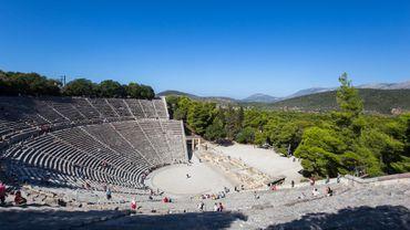 Théâtre d'Epidaure, Grèce