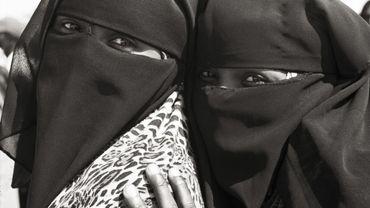 Femmes au camp de Choucha (Tunisie), mars 2011.