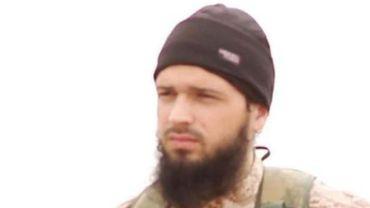 Capture tirée d'une vidéo diffusée par le média islamiste al-Furqan le 16 novembre 2014 montrant le Français Maxime Hauchard.