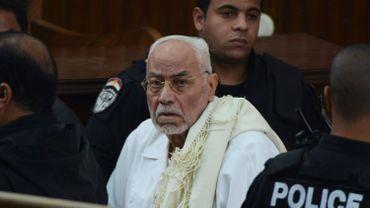 Egypte: prison à vie confirmée pour le guide suprême des Frères musulmans Mohammed Badie